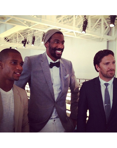 Gq S Fashion Week Instagram Diary Henrik Lundqvist