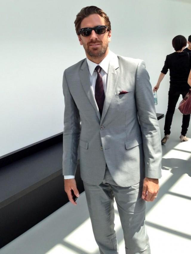 Henrik Lundqvist Milan Fashion Week Henrik Lundqvist