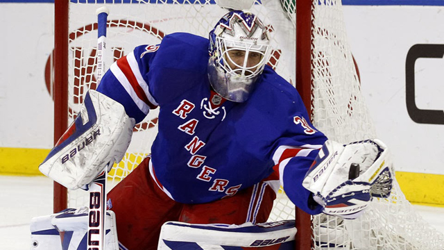 Henrik Lundqvist S Pads Are Ready To Play In Yankee Stadium Henrik