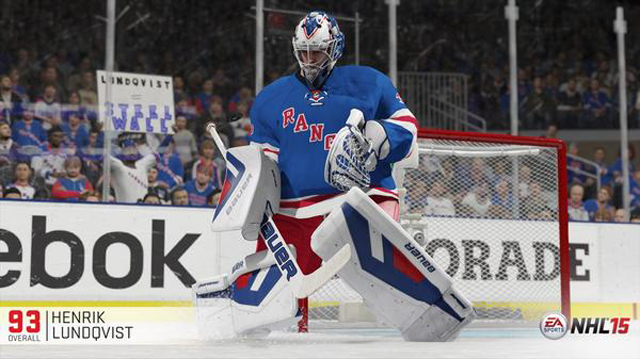 Lundqvist Is The Top Rated Goalie In Nhl 15 Henrik Lundqvist