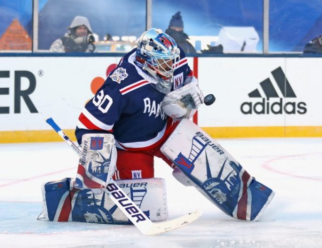 differently 20b75 5abd8 New York Rangers Report: Henrik Lundqvist voted to the All ...