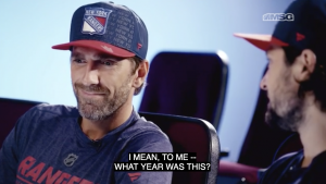 Rangers Henrik Lundqvist and Mats Zuccarello talk about how much they are alike, how much they're different, their favorite things to do off the ice, what it's like being each other's teammate and much, much more.
